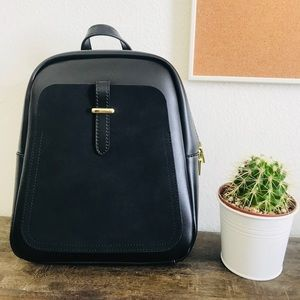 Handbags - Avery Black Mini Backpack